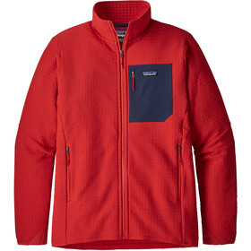 Patagonia M's R2 TechFace Jacket Fire